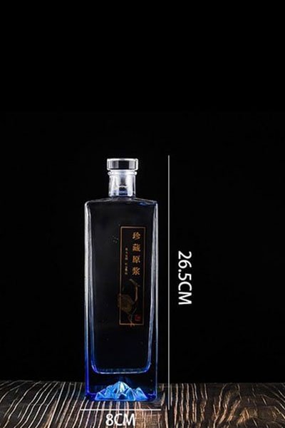 晶白酒瓶- 015
